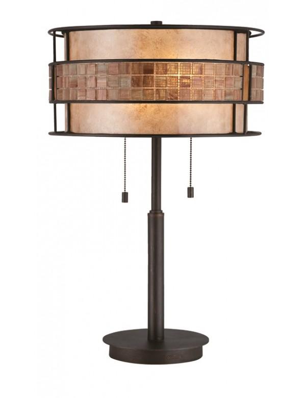 Czarująca stołowa oprawa klasyczna Laguna - Quoizel