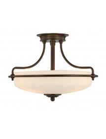 Elegancka lampa sufitowa Griffin 1717PN - Quoizel