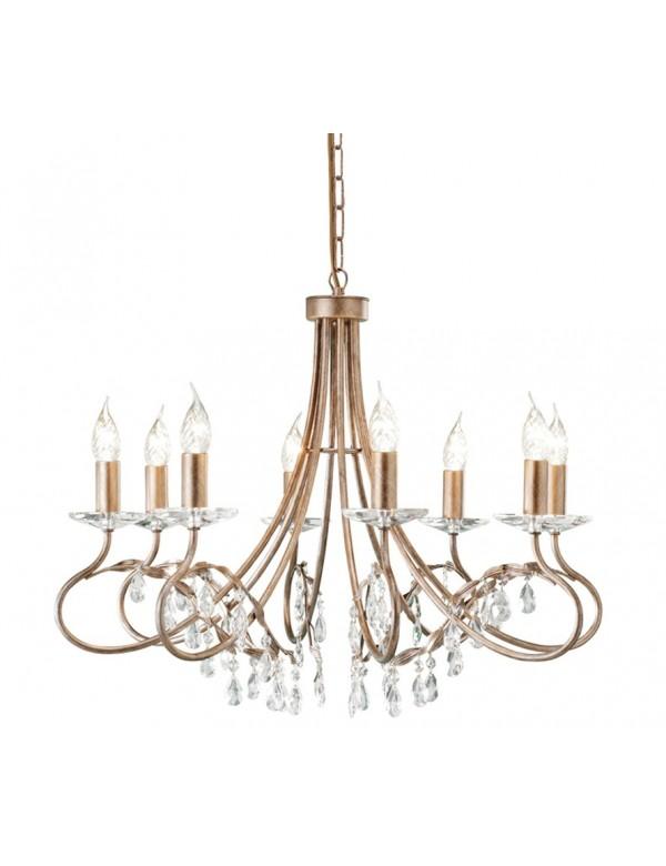 Luksusowy żyrandol ośmioramienny Christina 8lt - Elstead Lighting