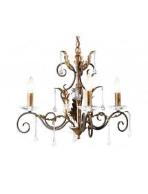 Klasyczny gustowny żyrandol Amarilli 3lt - Elstead Lighting
