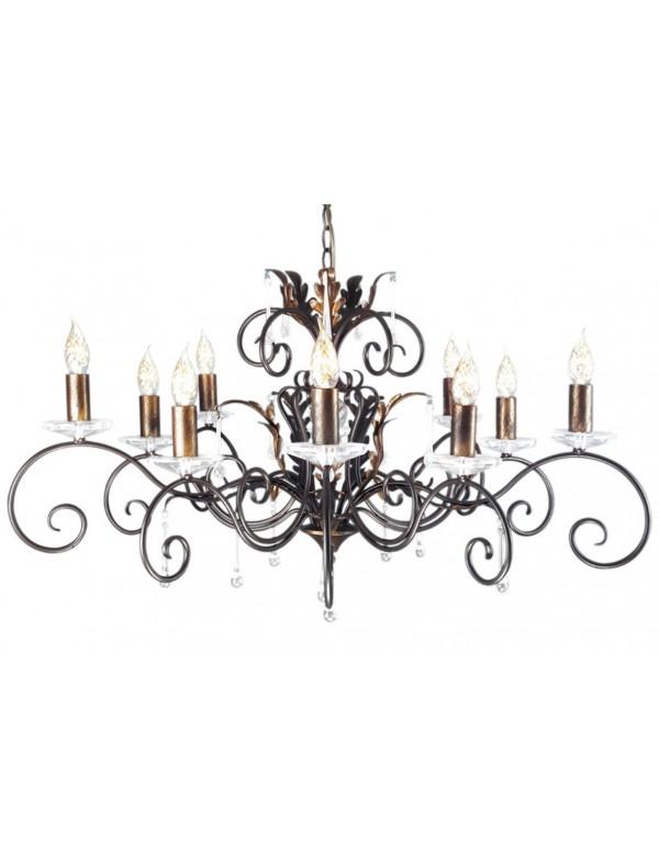 Ekskluzywny żyrandol dziesięcioramienny Amarilli 10lt - Elstead Lighting