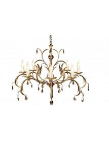 Szykowny klasyczny żyrandol Lily 8lt - Elstead Lighting