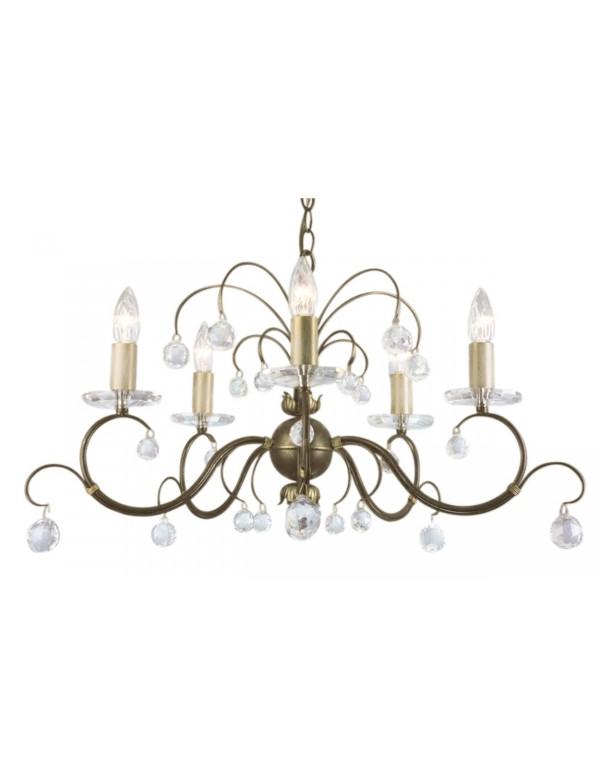 Pięcioramienny żyrandol klasyczny Lunetta 5lt - Elstead Lighting