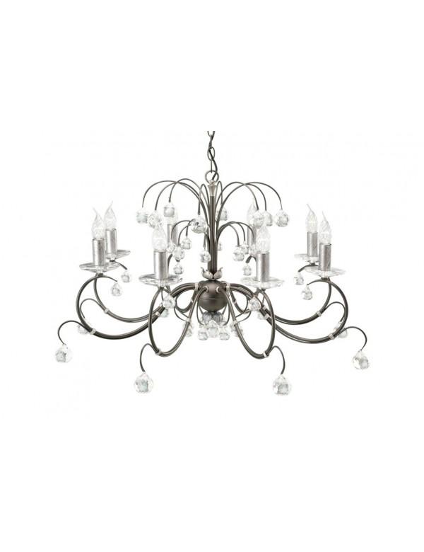 Urokliwy żyrandol klasyczny Lunetta 8lt - Elstead Lighting
