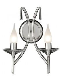 Kinkiet z dwoma punktami świetlnymi Brightwell 2lt - Elstead Lighting