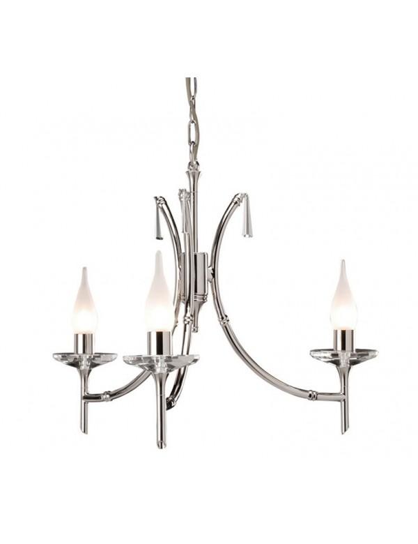 Niebywały potrójny żyrandol Brightwell 3lt - Elstead Lighting