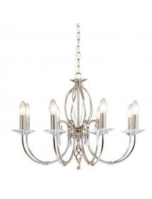 Ośmioramienny klasyczny żyrandol Aegean 8lt - Elstead Lighting
