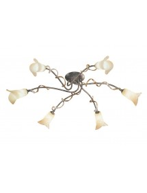 Sześcioraminna oprawa sufitowa Fly 6lt - Elstead Lighting