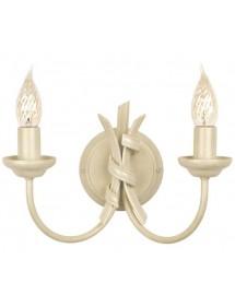 Niebywały kinkiet dwupłomienny Ribbon 2lt - Elstead Lighting