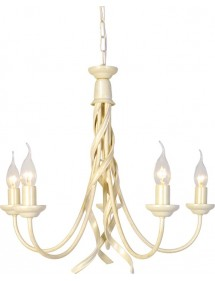 Żyrandol klasyczny z pięcioma ramionami Ribbon 5lt - Elstead Lighting