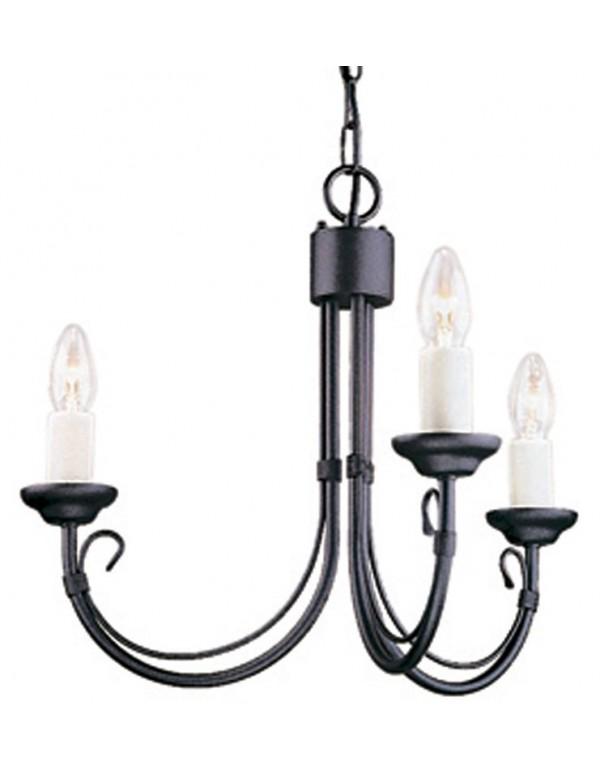 Klasyczna lampa wisząca Chartwell 3lt - Elstead Lighting