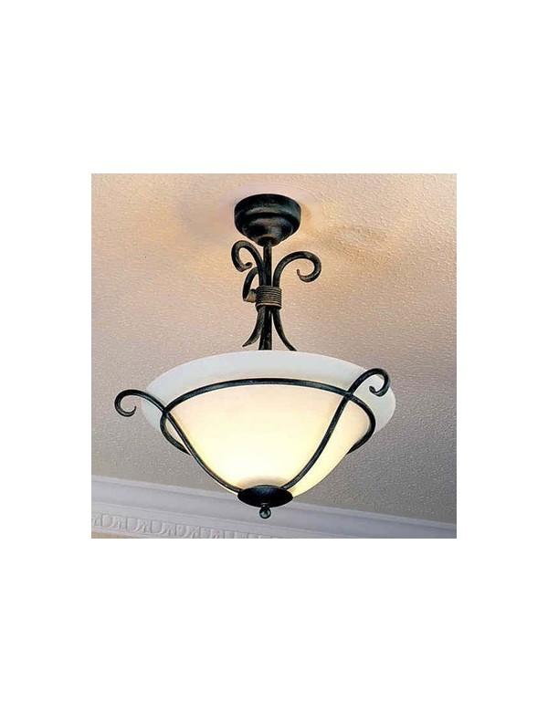 Urokliwy plafon domowy Torchiere SF - Elstead Lighting