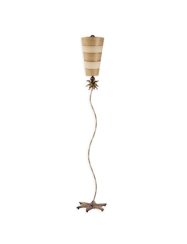 Wykwintna lampa podłogowa Anemone - Flambeau