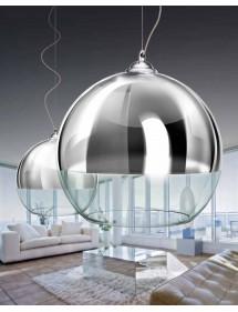Niepowtarzalna lampa wisząca SILVER BALL 40 - Azzardo