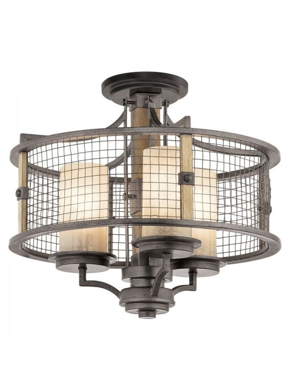 Lampa wisząca / Plafon - AHRENDALE 3 - Kichler