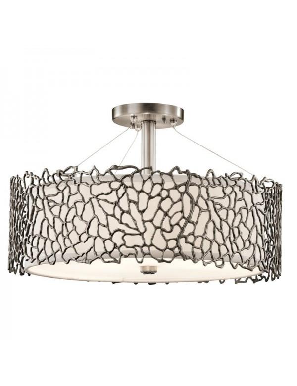 Lampa wisząca / Plafon - SILVER CORAL 3 - Kichler