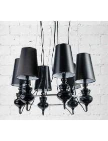 Lampa wisząca - BAROCO 6 BLACK - Azzardo