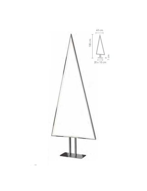 Duża podświetlana choinka PINE L - lampa stołowa Sompex