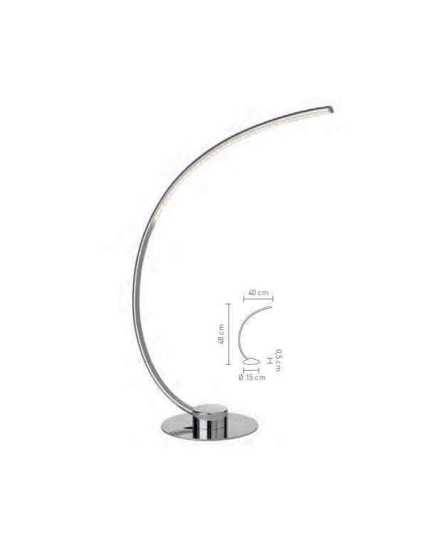 CURVE S lampka na stół - Sompex
