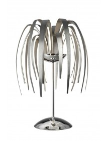 Lampa stołowa - Srebrne liście Sompex - LEAVE LED LS