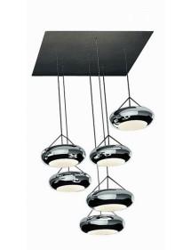 Luksusowe oświetlenie sufitowe Sompex - AURA 8WS