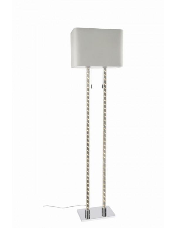 DOUBLE LP lampa podłogowa z płaskim abażurem - Sompex