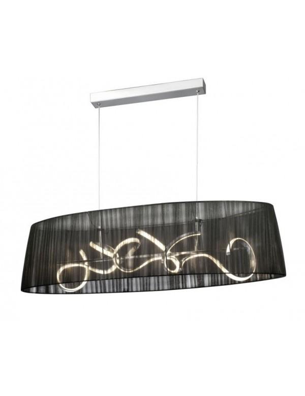 ORGANZA LED OVAL owalna lampa do salonu - Sompex