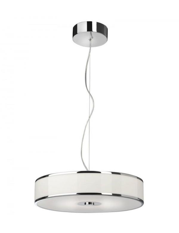 LOUNGE LED W - luksusowa lampa z białym kloszem - Sompex