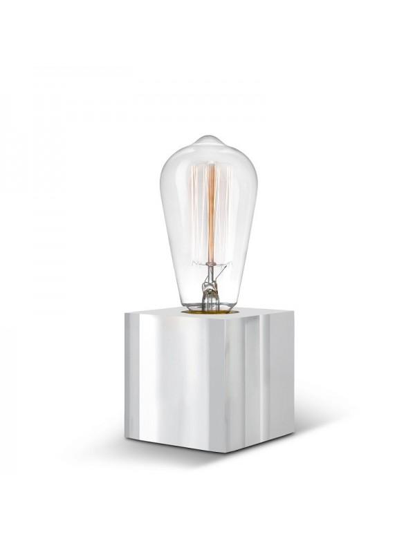 Akrylowy sześcian ozdobny - lampa Sompex CUBIC 2