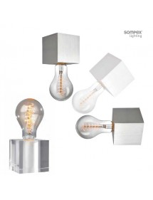 CUBIC P plafon mini w kształcie kostki - Sompex