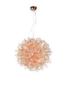 MYSTIC M - lampa wisząca wzór kuli z drutu Sompex