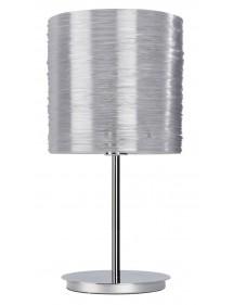 Szara lampka dekoracyjna na stół Sompex BRIGHT LS