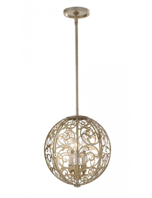 Świetnie skonstruowana lampa wisząca Arabesque - Feiss