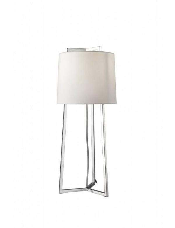 Ekskluzywna lampa stołowa KOPENHAGEN 1 w okrągłym abażurem - Villeroy & Boch
