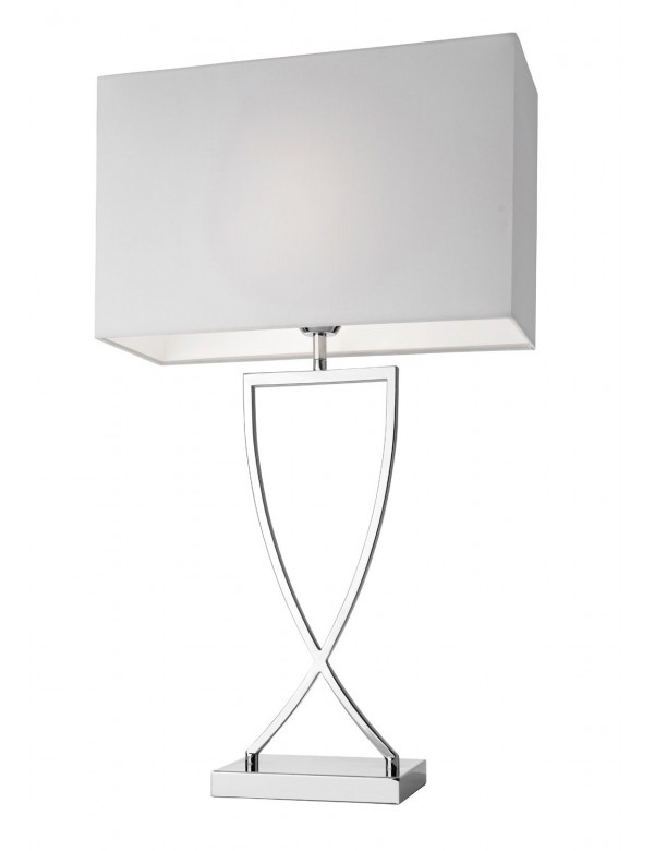TOULOUSE LS1 - lampa stołowa ze skrzyżowaną podstawą - Villeroy & Bach