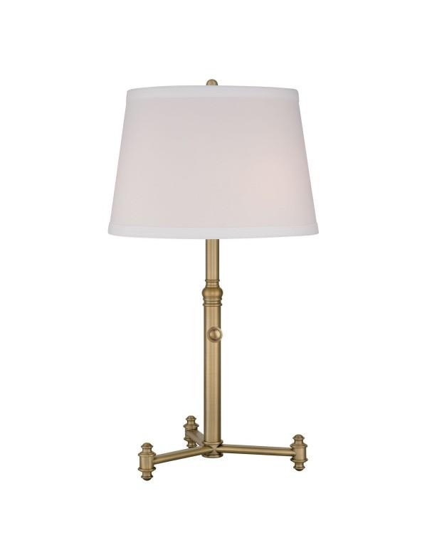 SOUTHWAY LS gabinetowa lampa stołowa na rozłożystej podstawie - Quoizel