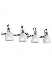 KL/CORA4 BATH kinkiet łazienkowy - cztery klosze na listwie - Kichler