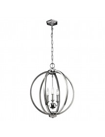 FE/CORINNE/3P/M lampa wisząca w kształcie kuli do salonu - Feiss