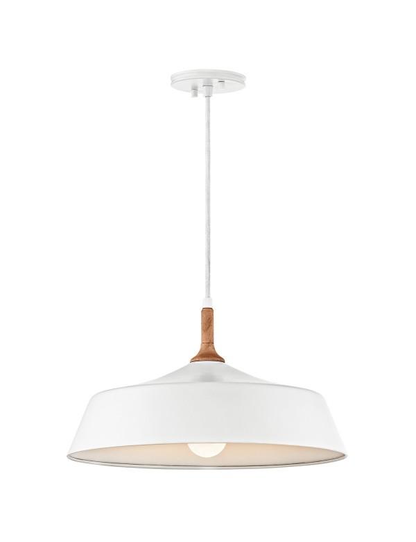 KL/DANIKA/P lampa wisząca z drewnianą wstawką - Kichler