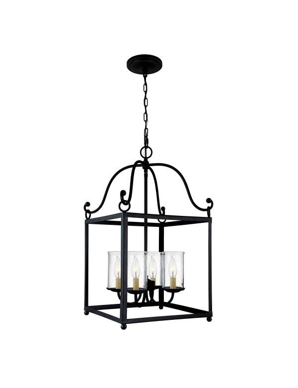 FE/DECLARATION4 piękna lampa wisząca w metalowej konstrukcji - Feiss
