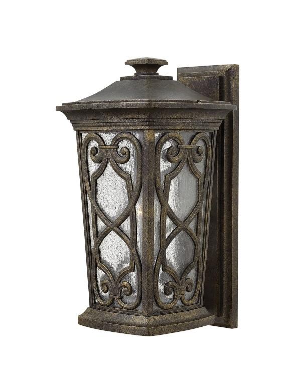 HK/ENZO2/M ogrodowa lampa ścienna w średniowiecznym stylu - Hinkley