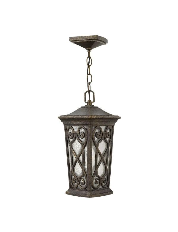 HK/ENZO8/S ogrodowa lampa wisząca na łańcuchu - Hinkley