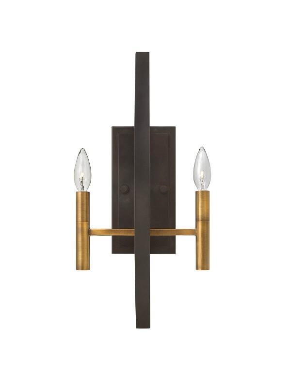 HK/EUCLID2 prosty kinkiet z rodziny lamp Euclid - Hinkley