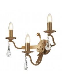 WINDSOR/W3 potrójny klasyczny kinkiet świeczkowy - Elstead Lighting