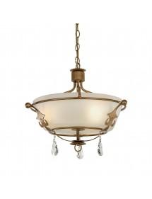 Lampa wisząca WINDSOR/SF ze szklanym, mlecznym kloszem - Elstead Lighting