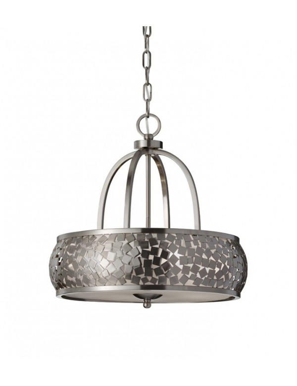 Elegancka wisząca lampa Zara II - Feiss