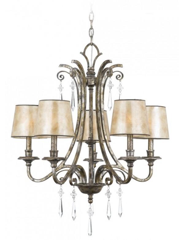 Zachwycająca lampa wisząca Kendra 5005 - Quoizel
