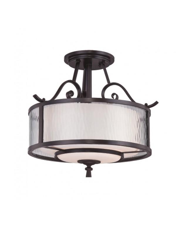 Okrągła lampa wisząca Adonis 1715 - Quoizel