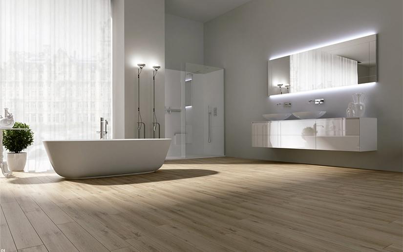 O wietlenie azienkowe jak zaplanowa o wietlenie w azience for Small bathroom minimalist design