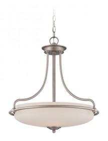 Wisząca lampa szklana Griffin 2821AN - Quoizel